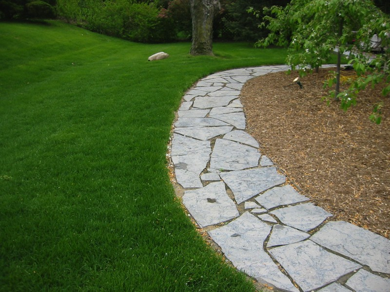 Natural stone sa script Natural stone walkways